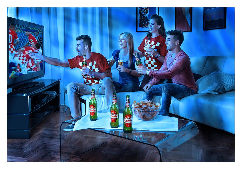 Alan Matuka advertising beer brewery Karlovacko reklama hrvatska pivo